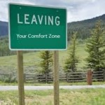 leaving comfort zone
