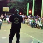 Ray ministering in Caldera